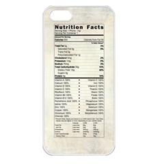 Phone Nutrition Apple iPhone 5 Seamless Case (White)