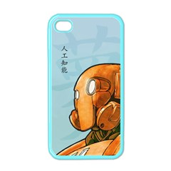 Robot Dreamer Apple iPhone 4 Case (Color)