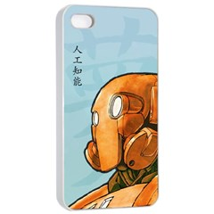 Robot Dreamer Apple iPhone 4/4s Seamless Case (White)