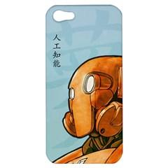 Robot Dreamer Apple iPhone 5 Hardshell Case