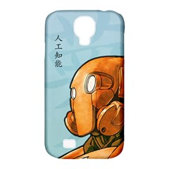Robot Dreamer Samsung Galaxy S4 Classic Hardshell Case (pc+silicone)