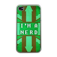 I m a nerd Apple iPhone 4 Case (Clear)