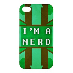 I m a nerd Apple iPhone 4/4S Premium Hardshell Case