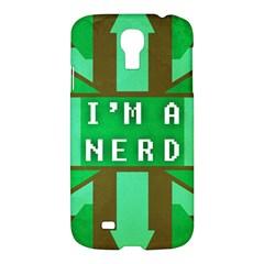 I m a nerd Samsung Galaxy S4 I9500/I9505 Hardshell Case