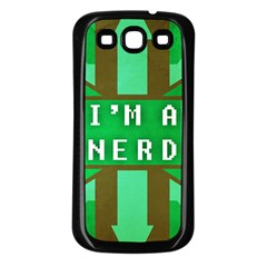 I m A Nerd Samsung Galaxy S3 Back Case (black)