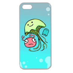 Ocean Party Seanparry Apple Seamless iPhone 5 Case (Clear)