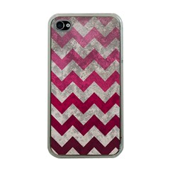 Chevron  Apple Iphone 4 Case (clear)