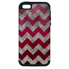 Chevron  Apple iPhone 5 Hardshell Case (PC+Silicone)