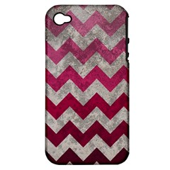 Chevron  Apple iPhone 4/4S Hardshell Case (PC+Silicone)