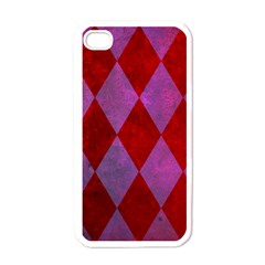 Diamond Tiles Apple Iphone 4 Case (white)