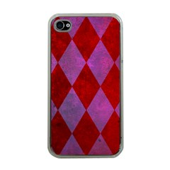 Diamond Tiles Apple Iphone 4 Case (clear)