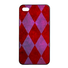 Diamond Tiles Apple Iphone 4/4s Seamless Case (black)