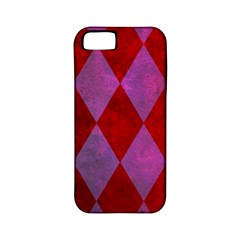 Diamond Tiles Apple Iphone 5 Classic Hardshell Case (pc+silicone)