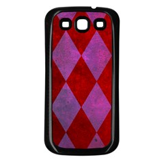 Diamond Tiles Samsung Galaxy S3 Back Case (black)