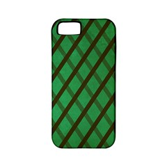 Green Stripes Apple iPhone 5 Classic Hardshell Case (PC+Silicone)