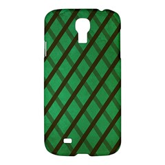 Green Stripes Samsung Galaxy S4 I9500/i9505 Hardshell Case