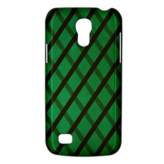 Green Stripes Samsung Galaxy S4 Mini Hardshell Case