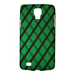 Green Stripes Samsung Galaxy S4 Active (I9295) Hardshell Case