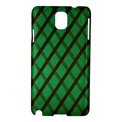 Green Stripes Samsung Galaxy Note 3 N9005 Hardshell Case