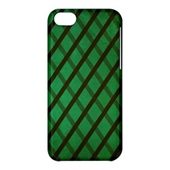 Green Stripes Apple Iphone 5c Hardshell Case