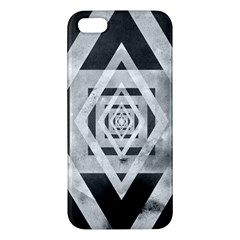 Geometric B&w Iphone 5 Premium Hardshell Case