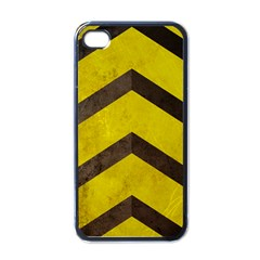 Caution Apple iPhone 4 Case (Black)