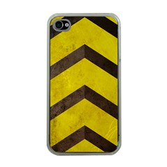 Caution Apple iPhone 4 Case (Clear)