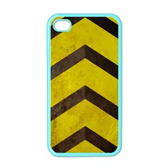 Caution Apple iPhone 4 Case (Color)