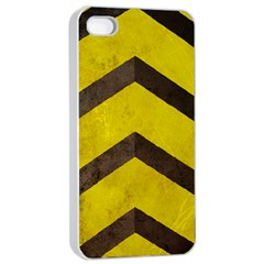 Caution Apple Iphone 4/4s Seamless Case (white)