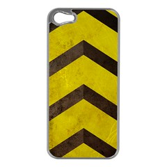 Caution Apple iPhone 5 Case (Silver)