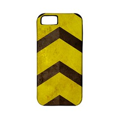 Caution Apple Iphone 5 Classic Hardshell Case (pc+silicone)