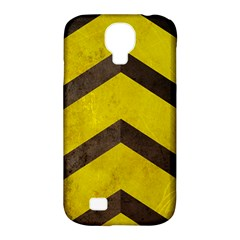 Caution Samsung Galaxy S4 Classic Hardshell Case (pc+silicone)