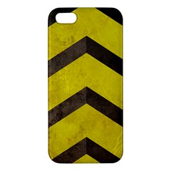 Caution Iphone 5s Premium Hardshell Case