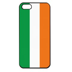 Irish Flag Apple Iphone 5 Seamless Case (black)