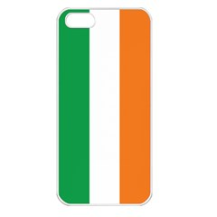 Irish Flag Apple iPhone 5 Seamless Case (White)