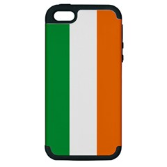 Irish Flag Apple iPhone 5 Hardshell Case (PC+Silicone)