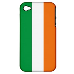 Irish Flag Apple Iphone 4/4s Hardshell Case (pc+silicone)