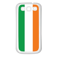 Irish Flag Samsung Galaxy S3 Back Case (White)