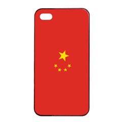 Chinese Flag Apple Iphone 4/4s Seamless Case (black)