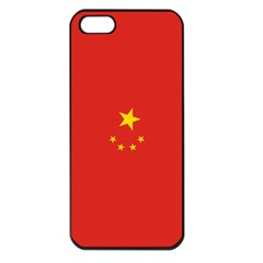 Chinese Flag Apple Iphone 5 Seamless Case (black)