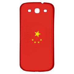 Chinese Flag Samsung Galaxy S3 S III Classic Hardshell Back Case