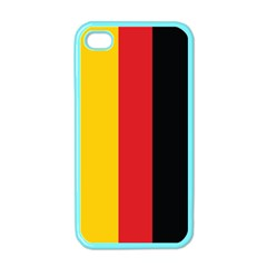 German Flag Apple iPhone 4 Case (Color)