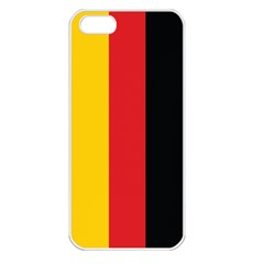 German Flag Apple iPhone 5 Seamless Case (White)