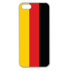 German Flag Apple Seamless iPhone 5 Case (Clear)