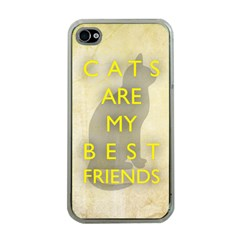 Best Friends Apple Iphone 4 Case (clear)