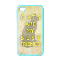 Best Friends Apple Iphone 4 Case (color)