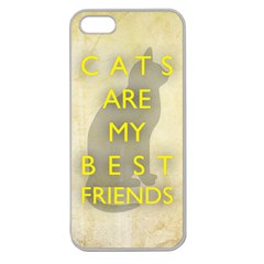 Best Friends Apple Seamless Iphone 5 Case (clear)