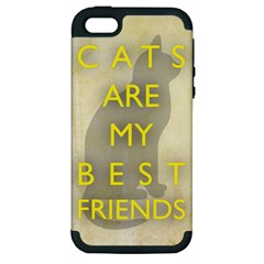Best Friends Apple Iphone 5 Hardshell Case (pc+silicone)