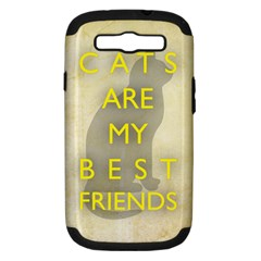 Best Friends Samsung Galaxy S III Hardshell Case (PC+Silicone)