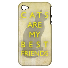 Best Friends Apple Iphone 4/4s Hardshell Case (pc+silicone)